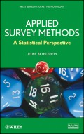 Applied Survey Methods. A Statistical Perspective