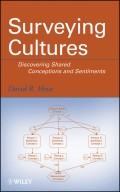Surveying Cultures. Discovering Shared Conceptions and Sentiments