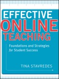 Effective Online Teaching. Foundations and Strategies for Student Success
