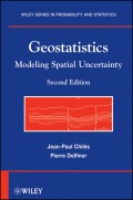 Geostatistics. Modeling Spatial Uncertainty