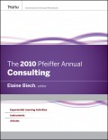 The 2010 Pfeiffer Annual. Consulting