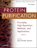 Protein Purification. Principles, High Resolution Methods, and Applications