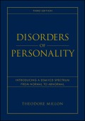 Disorders of Personality. Introducing a DSM / ICD Spectrum from Normal to Abnormal