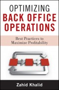 Optimizing Back Office Operations. Best Practices to Maximize Profitability