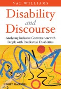 Disability and Discourse. Analysing Inclusive Conversation with People with Intellectual Disabilities