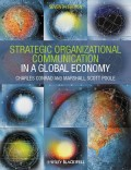 Strategic Organizational Communication. In a Global Economy
