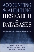 Accounting and Auditing Research and Databases. Practitioner's Desk Reference