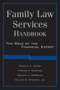 Family Law Services Handbook. The Role of the Financial Expert