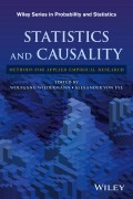 Statistics and Causality. Methods for Applied Empirical Research