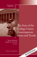The State of the College Union: Contemporary Issues and Trends. New Directions for Student Services, Number 145