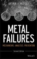 Metal Failures. Mechanisms, Analysis, Prevention