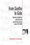 From Goethe To Gide